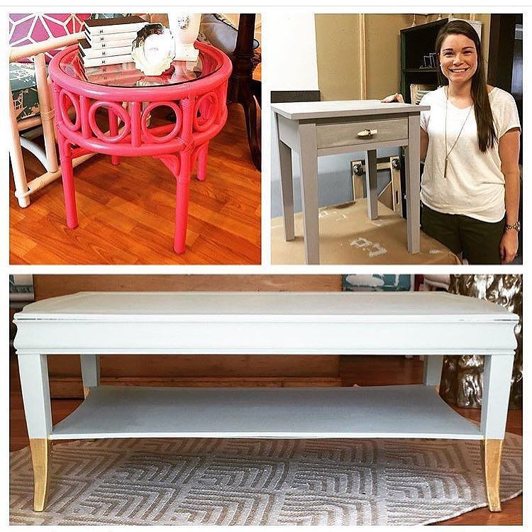 There are a few spots left for our PYOP workshop tomorrow evening=Paint Your Own Piece! Bring a small piece and transform it during our class! Sign up online! www.twofriends2.com #tfssi #stsimons #seaisland #chalkpaint #diy #rescuerestoreredecorate @amyhowardhome