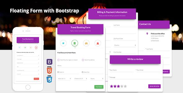 Floating Form with Bootstrap  Floating Form with Bootstrap is a - reservation forms in pdf