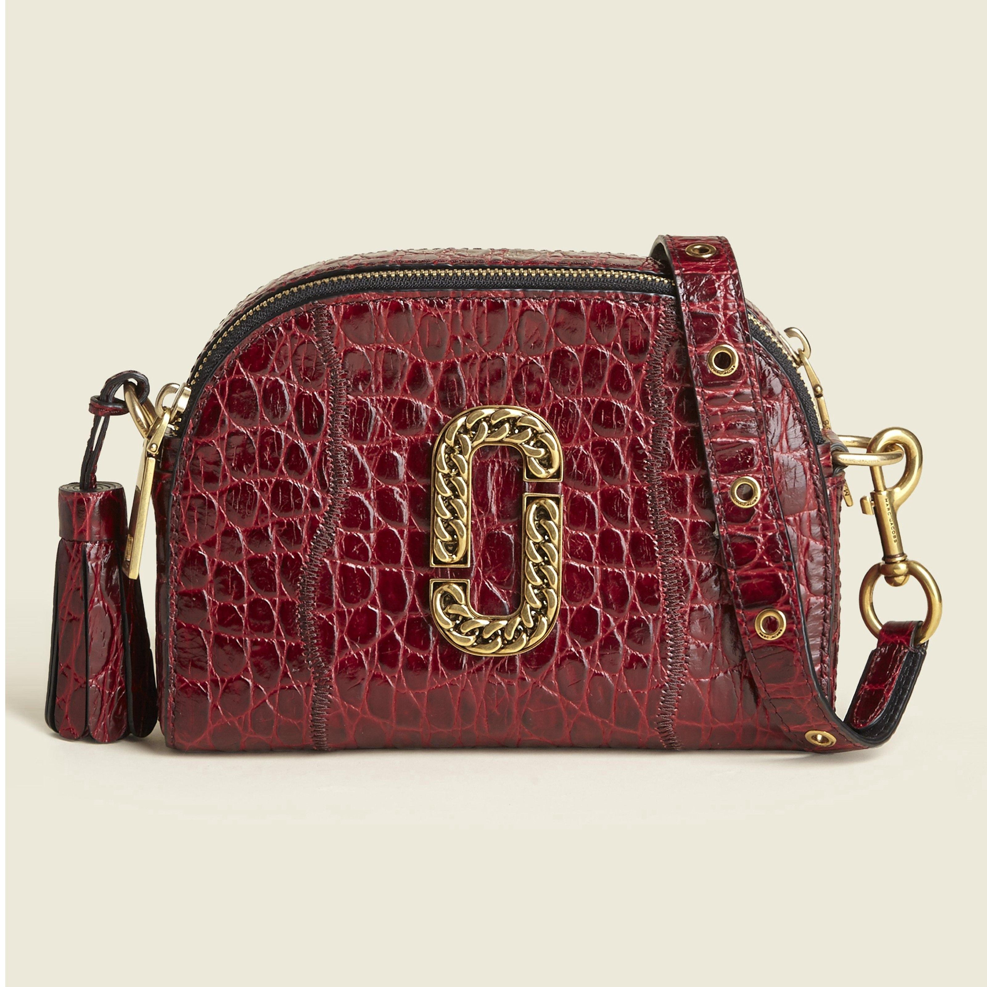 27bdf679b733 MARC JACOBS Croc Embossed Shutter Small Camera Bag.  marcjacobs  bags   shoulder bags  leather  crossbody