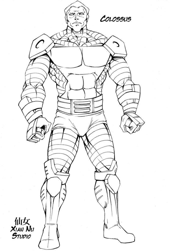 Line Art X Men Pesquisa Google Dibujos Comics Comic Dibujos
