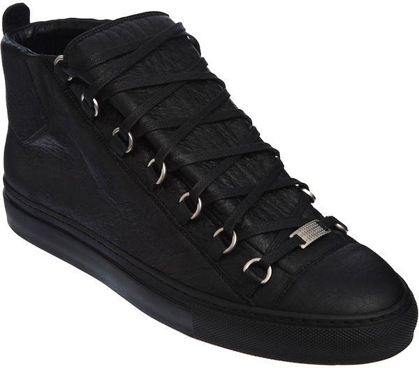 Balenciaga Arena Black sneakers: Kanye