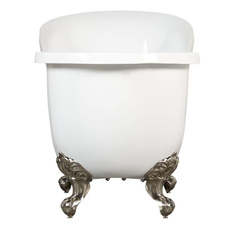 Signature Hardware 915426 55 Clawfoot Tub Bathroom Tub