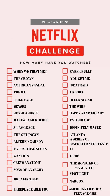 NETFLIX CHALLENGE in 20   Netflix movies, Netflix movies to ...
