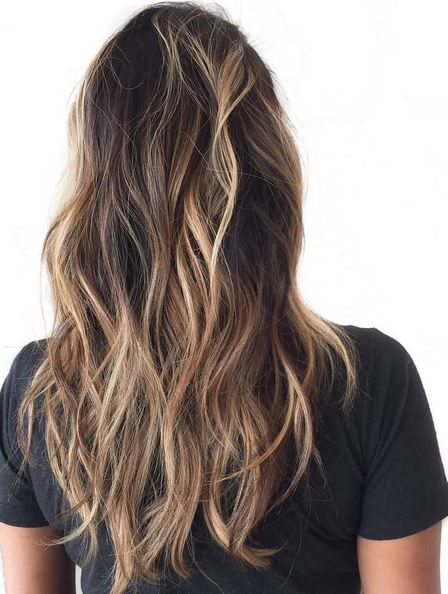 Sunkissed brunette highlights hair color pinterest brunette sunkissed brunette highlights pmusecretfo Images