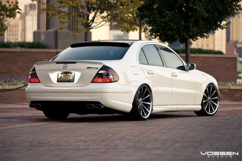 2003 Mercedes E500 Custom Paint