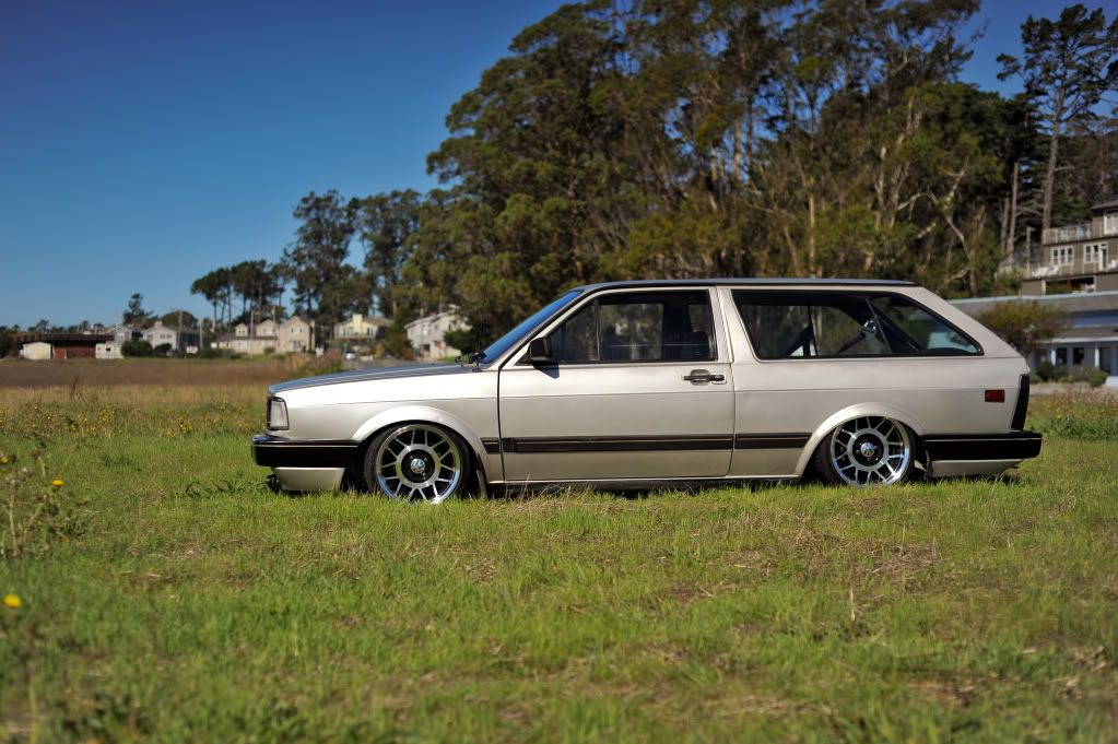 Banned wagon's Bagged wagon (VW Fox Air