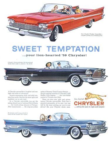 Sweet Temptation #Chrysler