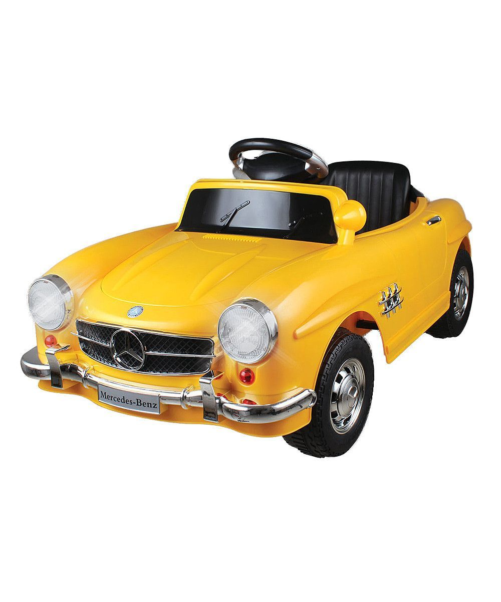 Classic Yellow Mercedes 300SL Ride-On (With Images