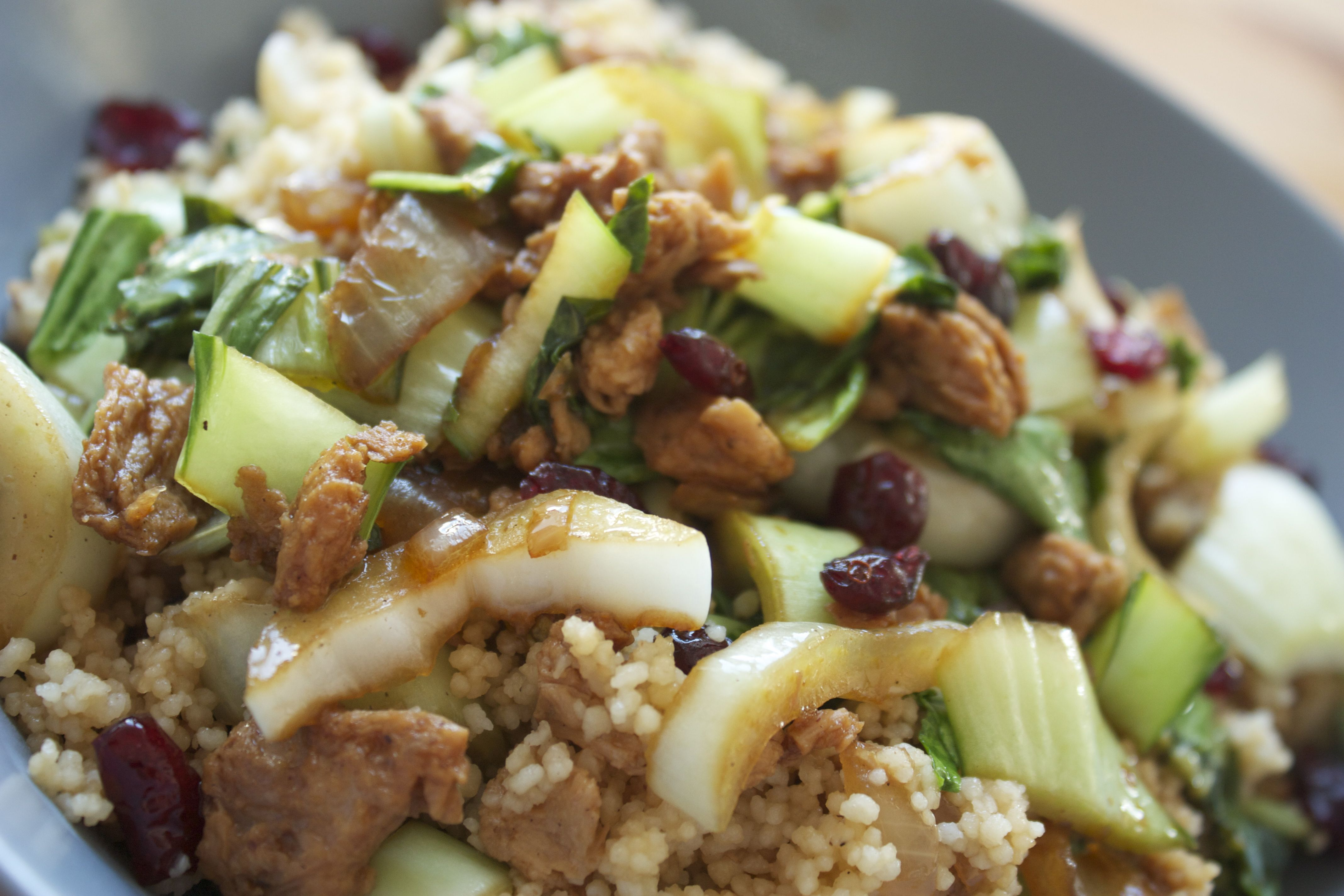 Couscous & Pak Choi #vegan