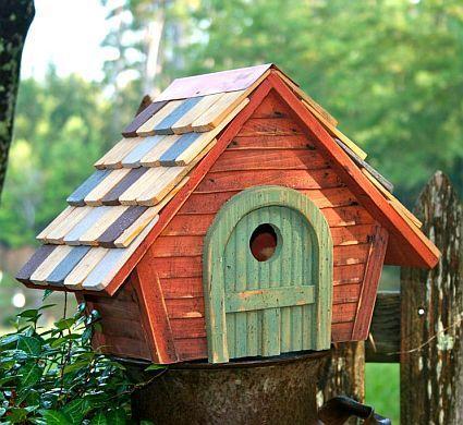 30+ Birdhouse Ideas For Your Precious Garden | Birdhouse ideas ...