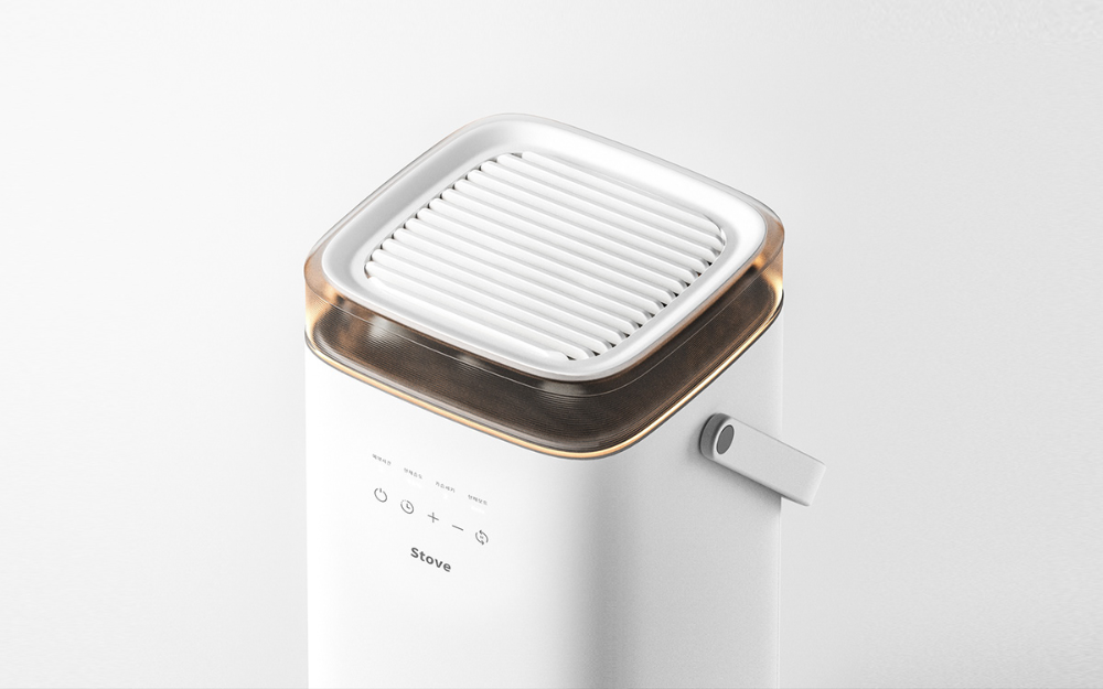 A humidifier named stove on Behance in 2020 Humidifier