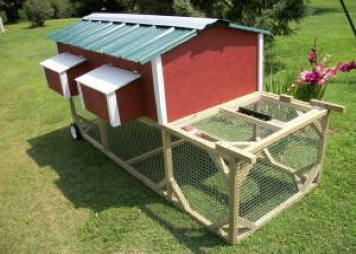 Chicken Coop With 4 Nest Boxes Pullout Cleaning Tray New 330