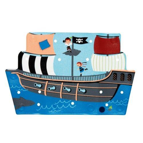 Tapis de bain bateau de pirate