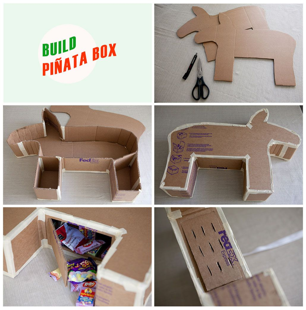 Pinata Box Going To Make But My Child S Age With A