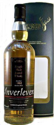 Inverleven 1991 Single Malt Scotch Whisky 40% 70cl Demolished Lowland Distillery