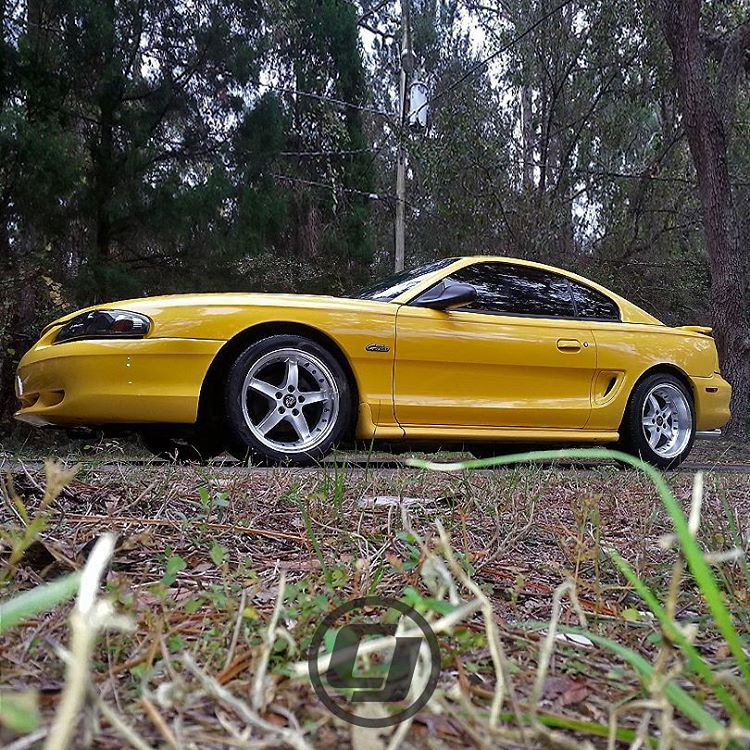 Supercharged Mustang Yellow: Nothing Nicer Than A Clean SN95 #Mustang To Help Kick Off