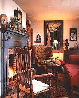 Image detail for home interior design style guide for Primitive interior designs