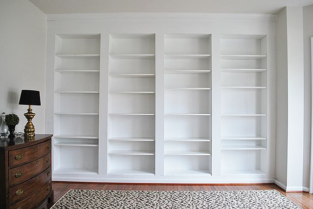 How To Build Diy Built In Bookcases From Ikea Billy Bookshelves Billy Bucherregal Hack Ikea Bucherschrank Bucherregale Bauen