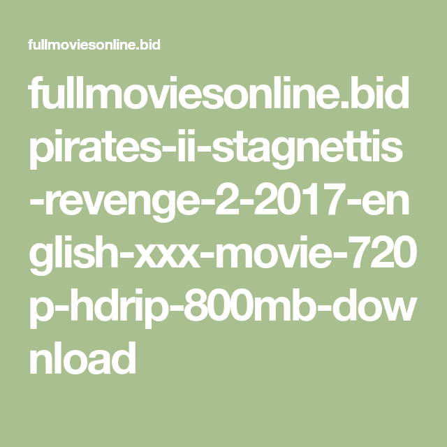 download pirates stagnettis revenge unrated