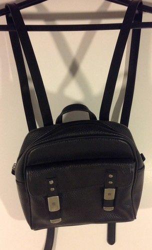 Esprit Mini  Backpack, Black  Found on eBay - ending in 14 hours ET ROCK BOTTOM PRICES