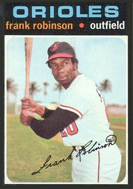 Frank Robinson 1971 Topps Card Mlb Baseball Card