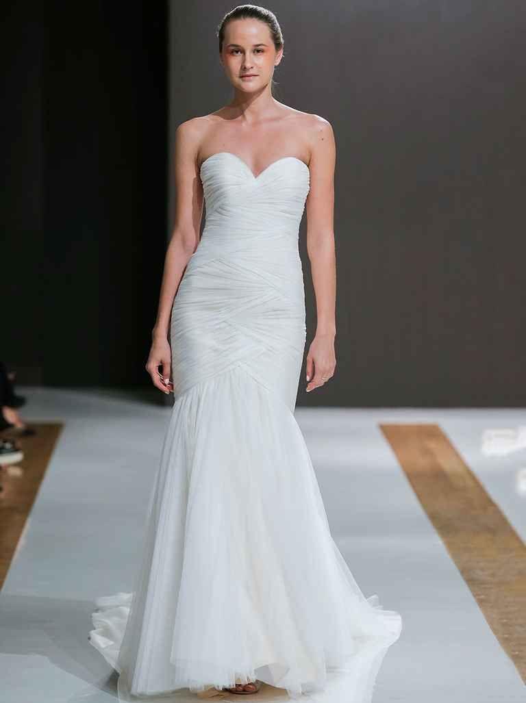 Ethereal wedding dress  Mark Zunino Fall  Ethereal Yet Glamorous Wedding Dresses  Mark