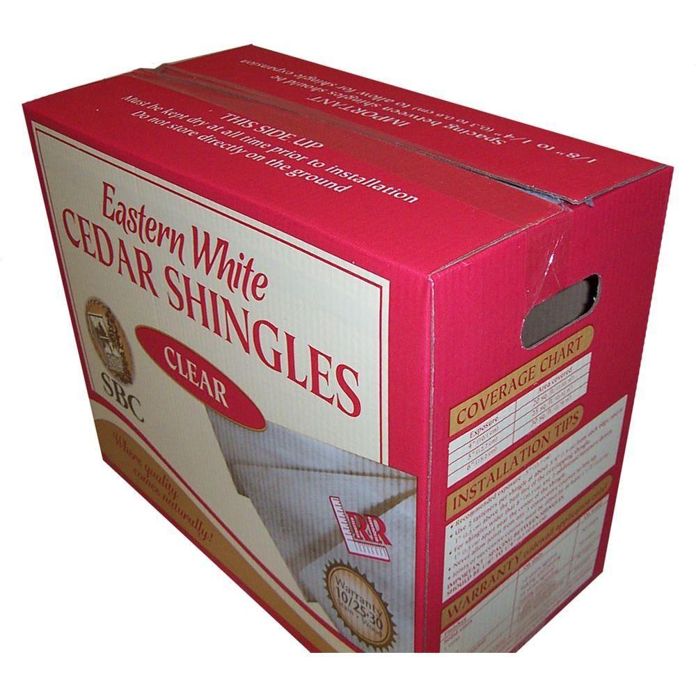 Best Sbc 16 In Maximum Natural Tone Eastern White Cedar Shingle Siding 25 Sq Ft Box Ehd0810298 400 x 300