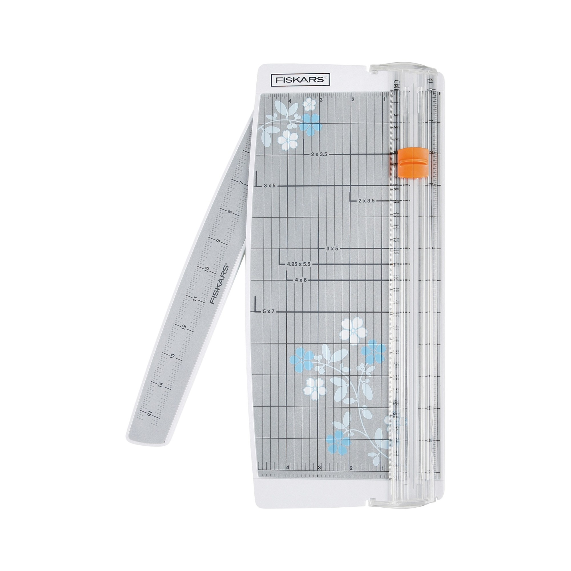 Fiskars Portable Paper Trimmer Gray