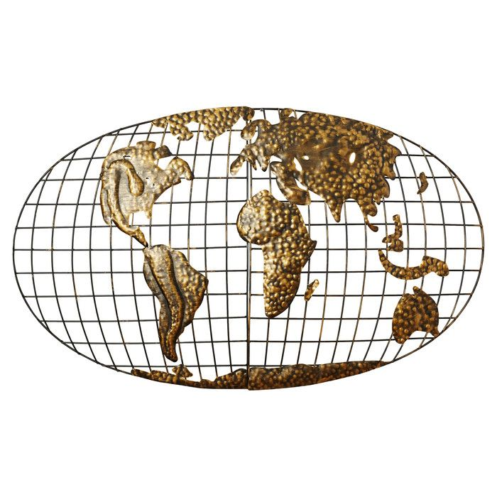 Wall mounted world map sculpture wall mount walls and pillows alcott hill penshire wall mounted world map sculpture reviews wayfair gumiabroncs Gallery