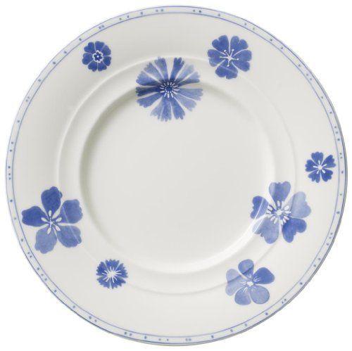 Villeroy Boch Farmhouse Touch Blue Flowers Bread Butter Plates