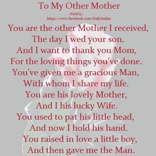 Imgenes de mothers day quotes for mother in law to be mother in law day m4hsunfo