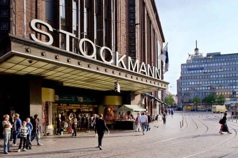 Stockmann Helsinki - Good for picking up food in the grocery store, restaurant on top floor is ok but not like KaDeWe - Aleksanterinkatu 52
