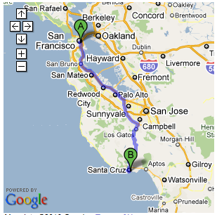Driving Trip Planner >> Route Planner California Travel Ideas Route Planner
