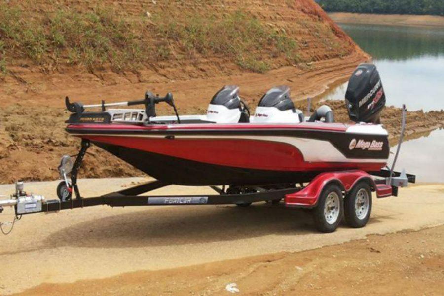 Reboque Para Bass Boat Fort Car Cores