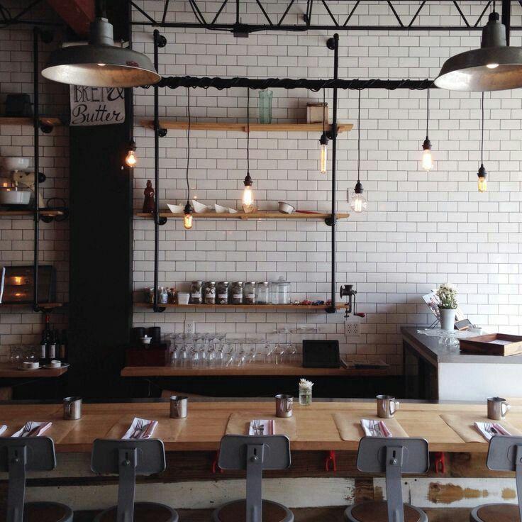 image restaurant kitchen lighting. Industrial Style Kitchen Image Restaurant Lighting I