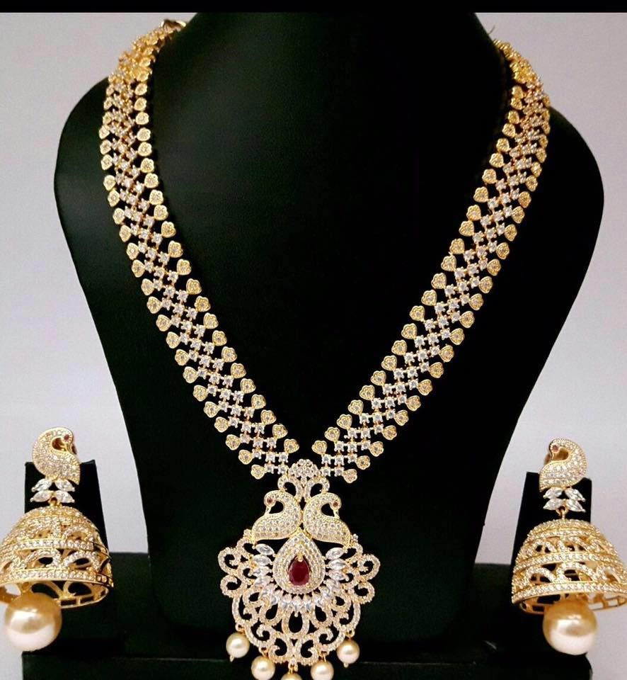 Inr 3800 Rs 3 In 2020 Necklace Online Gold Jewellery Design
