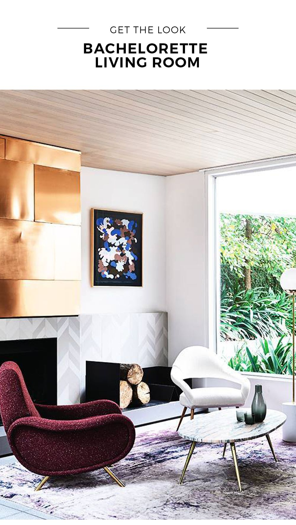 Get The Look: Bachelorette Living Room - Black Rooster Decor | Décor ...