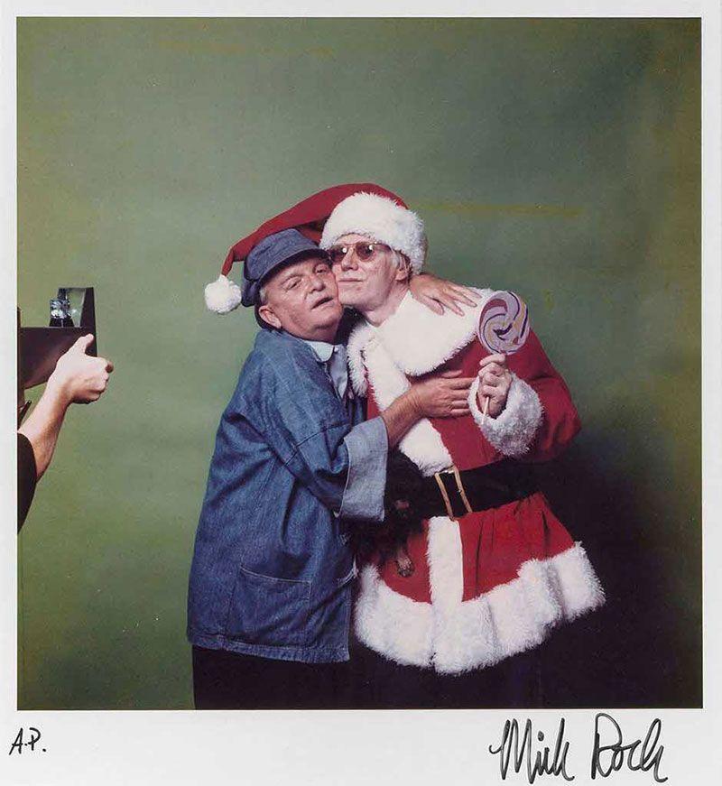 Andy Warhol y Truman Capote
