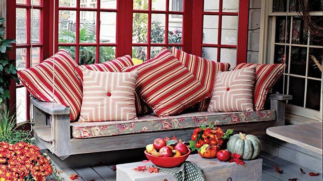 16 ways to spice up your porch décor for fall modern on porch swing ideas inspiration id=60836