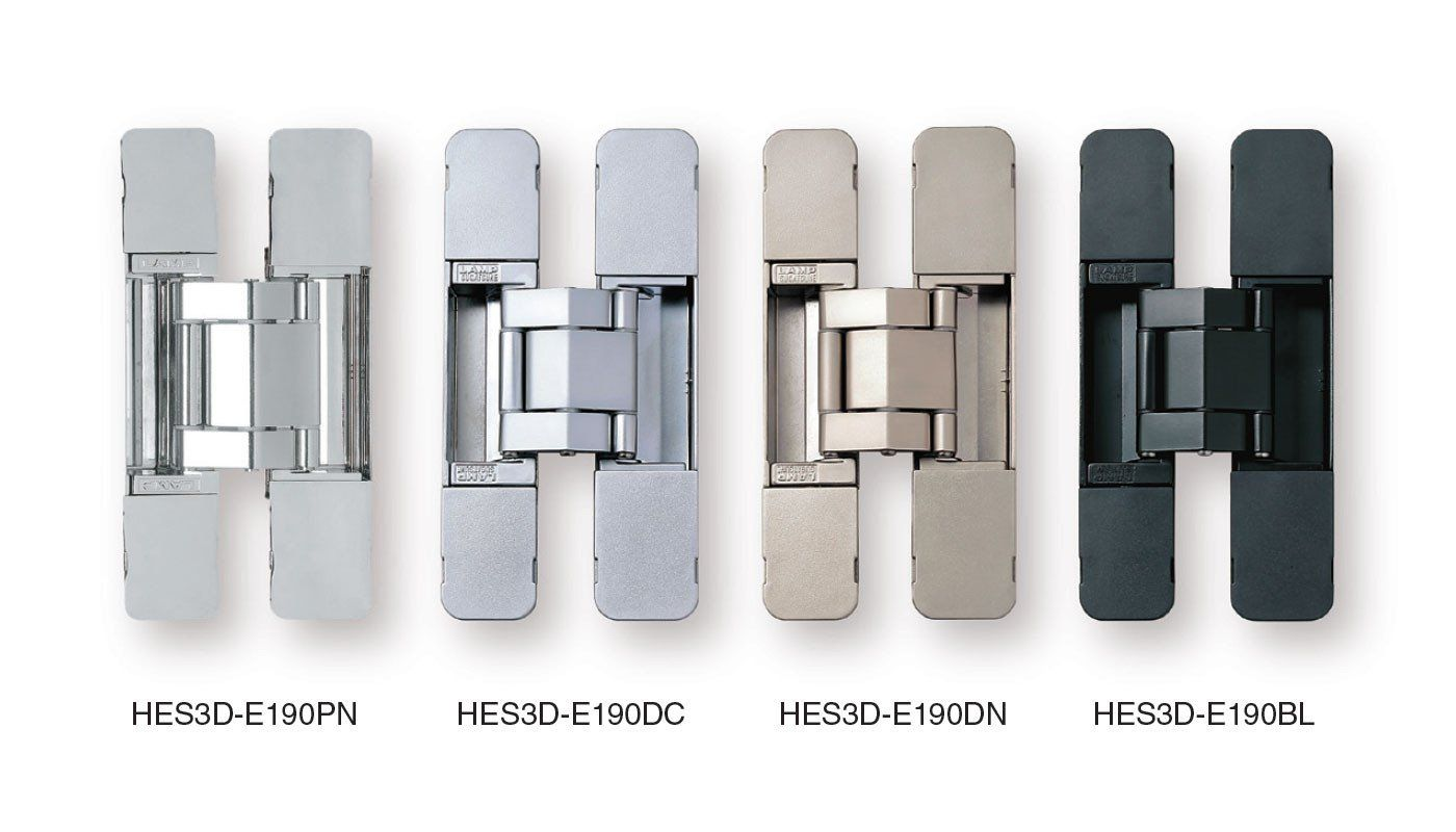 Concealed Door Hinges Heavy Duty Invisible Sugatsune Multiple Finishes Available Sold Individually Concealed Door Hinges Hidden Door Hinges Door Hinges