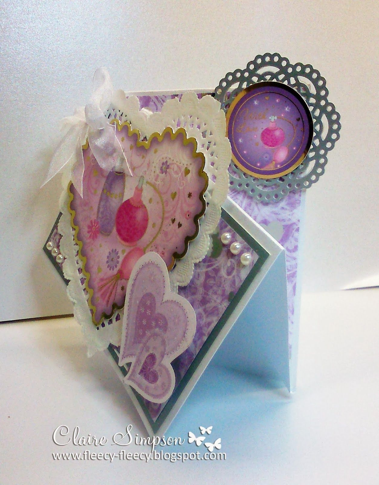 for Crafter's Companion - All My Love paper kit