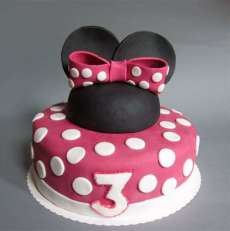 geburtstagsauftrag teil 2 minnie mouse torte torte. Black Bedroom Furniture Sets. Home Design Ideas