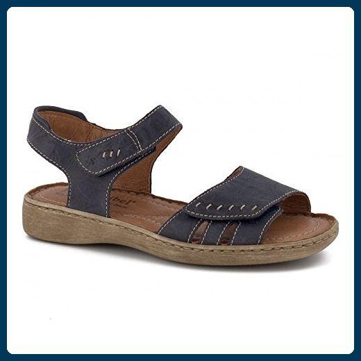 9b9484e22d0a37 Lisa Leder Klettverschluss Damen Sandale 38 EU River SS17 - Sandalen für  frauen ( Partner-Link)