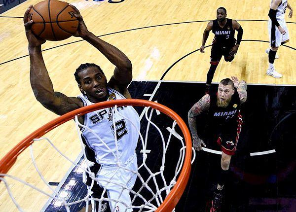 8441d04deaec Kawhi Leonard named Finals MVP as Spurs claim fifth title
