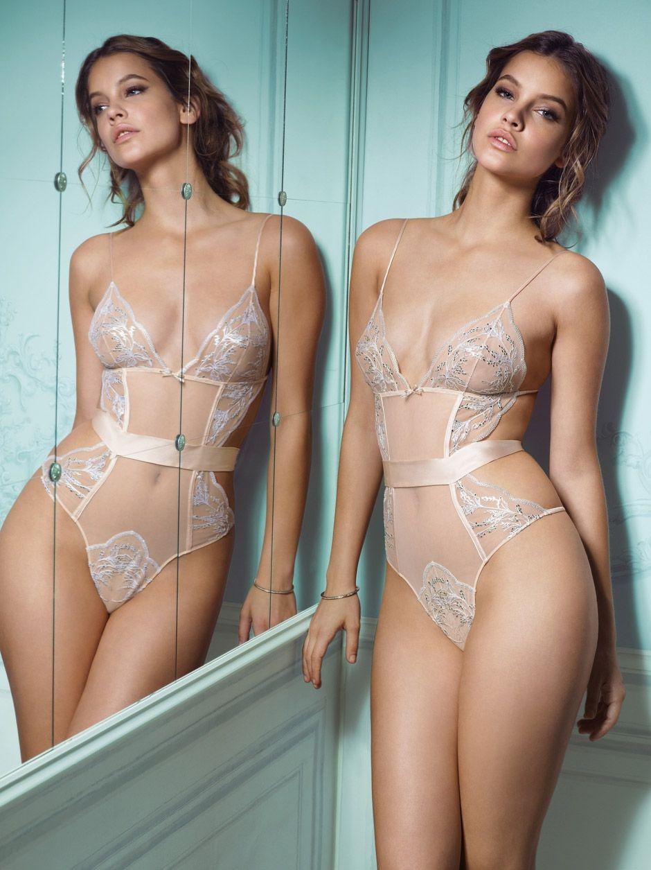 4f0670df46e Barbara Palvin for Victoria s Secret Designer Collection
