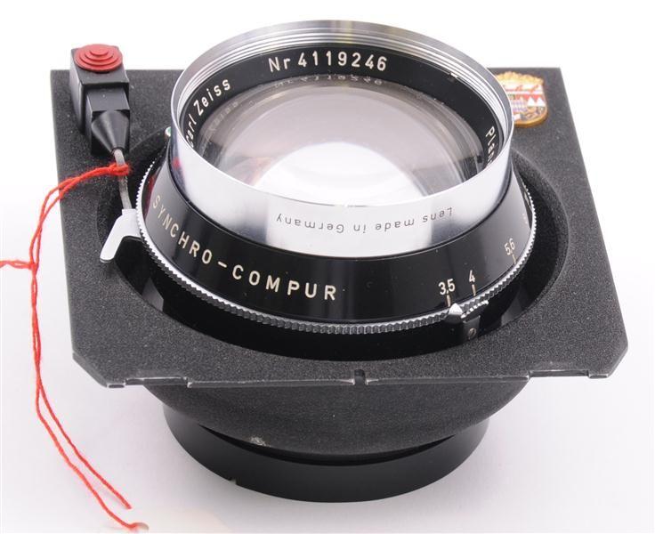 Zeiss Linhof 3 5 135mm Planar Original Linhof Lens   eBay