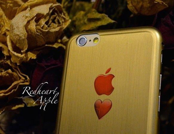 <詳細> ・対応機種:iphone6/4.7inch ・素材:合金チタン(薄さ0.3mm) ・カラー:ゴールド<こだわり> 『APPL...|ハンドメイド、手作り、手仕事品の通販・販売・購入ならCreema。
