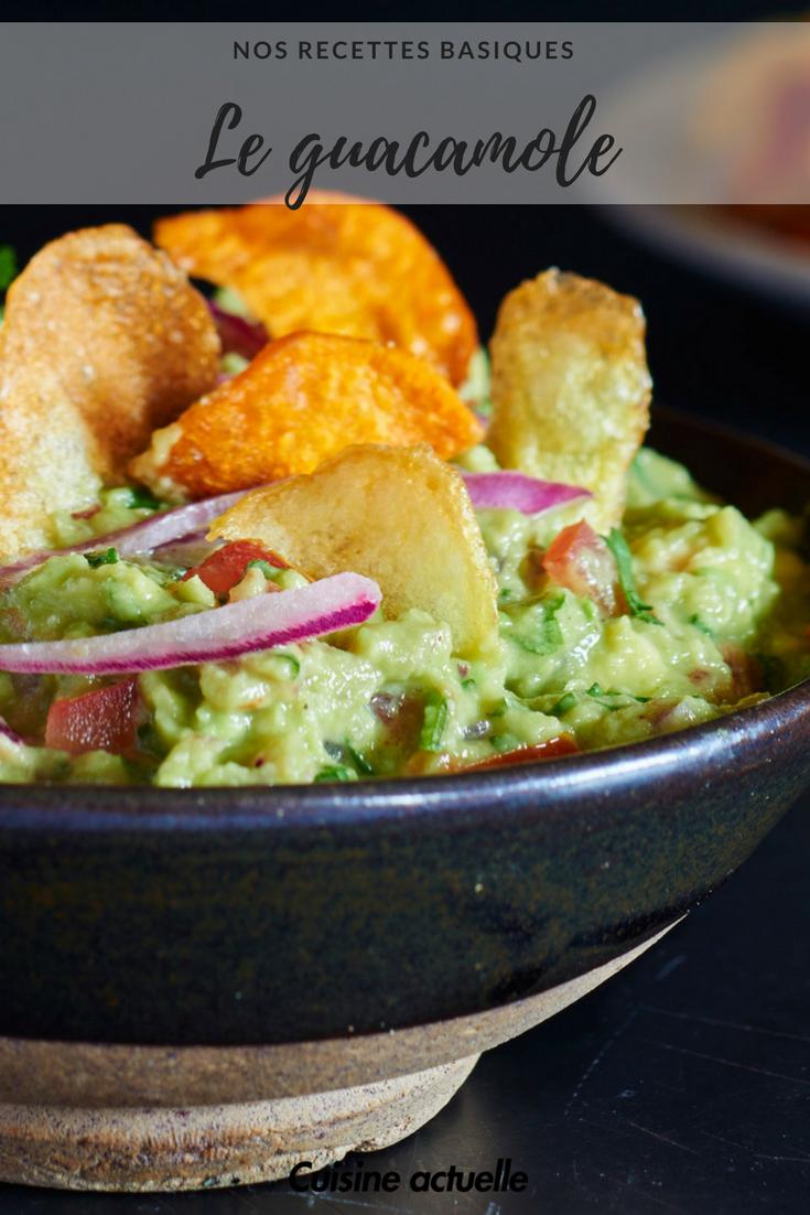 L 39 ingr dient inattendu pour un guacamole irr sistible nos recettes basiques recette - Cuisine mexicaine traditionnelle ...