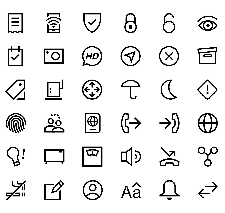 Пиктограммы и символы картинки