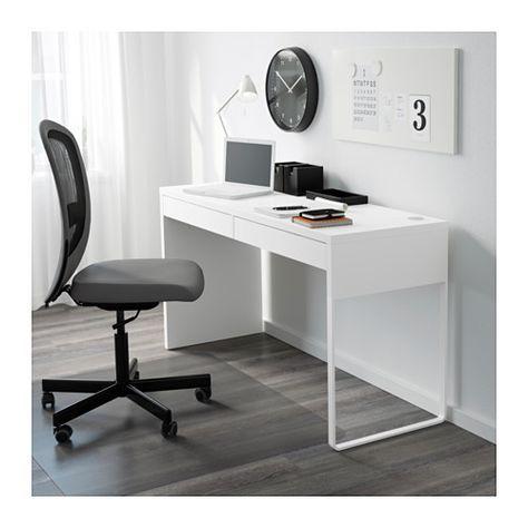 Micke Desk White 55 7 8x19 5 8 Ikea Micke Desk Ikea Micke Desk Ikea
